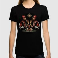 Still Life Womens Fitted Tee Black SMALL
