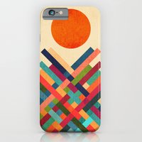 iPhone Cases featuring Sun Shrine by Budi Kwan