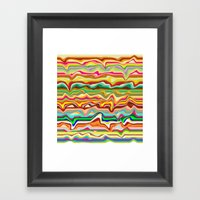 Freshers Trip Framed Art Print