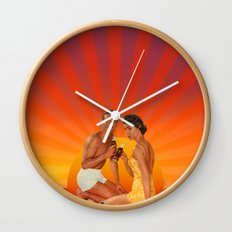 End of Summer Wall Clock