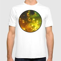 Bubbles! Mens Fitted Tee White SMALL