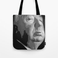 Alfred Hitchcock Tote Bag