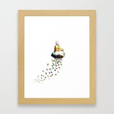 Little Ride Framed Art Print