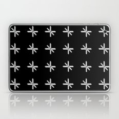 CROSS OUT BLK Laptop & iPad Skin