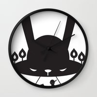 BLACK POND Wall Clock