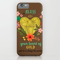 Bless your Heart of Gold iPhone 6 Slim Case