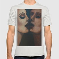 Mirror, Mirror  Mens Fitted Tee Silver SMALL