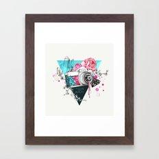 Focus on beauty Framed Art Print