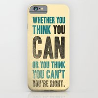 Think you can or can't iPhone 6 Slim Case