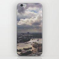 London Above iPhone & iPod Skin