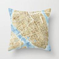 Charleston, South Caroli… Throw Pillow