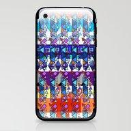 Rhapsody In Triangles iPhone & iPod Skin