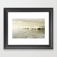 Pismo Waves Framed Art Print
