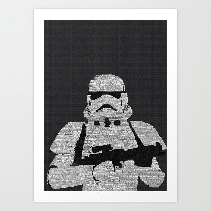 Stormtrooper Art Print by Steve Wade ( Swade) | Society6
