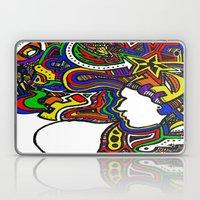 Rainbow Techno Laptop & iPad Skin