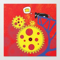 I Smell Cheese Canvas Print
