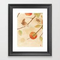 Winter Wren Framed Art Print