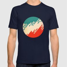 (I've Seen) Fire & Rain Mens Fitted Tee Navy SMALL