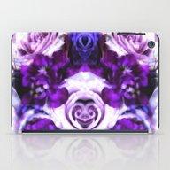 Purple Pink Flowers iPad Case