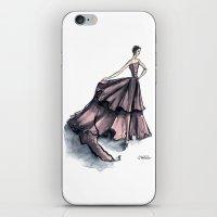 Audrey Hepburn In Pink iPhone & iPod Skin