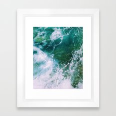 Waves pt. 2 Framed Art Print