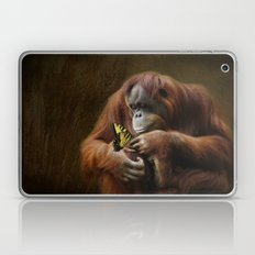 Orangutan and Butterfly Laptop & iPad Skin