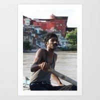 Varanasi Art Print
