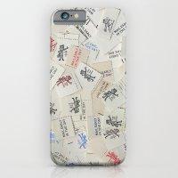 Vintage Postal Ephemera - Mr. Zip iPhone 6 Slim Case