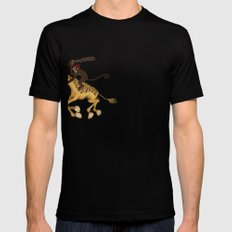 Run Through the Jungle Mens Fitted Tee SMALL Black