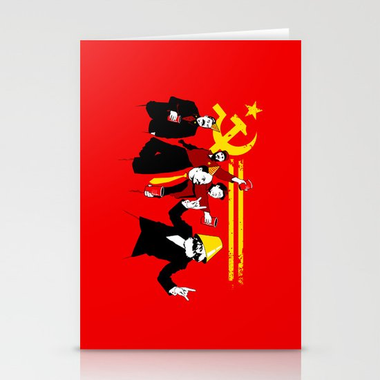 The Communist Party (original) Stationery Card