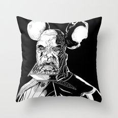 Vador Mouse Unmasked Throw Pillow