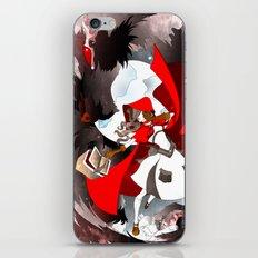 The Big Bad Wolf iPhone & iPod Skin
