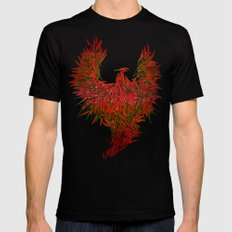 Hot Wings! Mens Fitted Tee SMALL Black