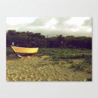 Canvas Print featuring Solitary by SmallIslandInTheSun