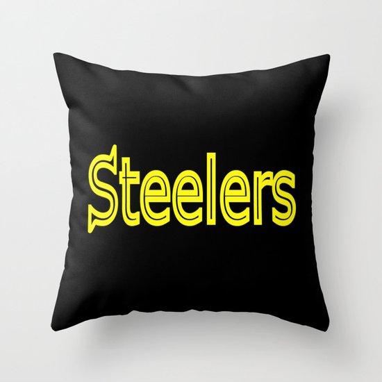 Steelers - #1 Throw Pillow