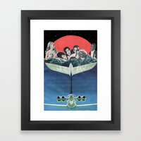 Mile High Club Framed Art Print