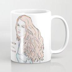 Though she be but little, she is fierce Mug