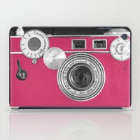 Pink Fashion Camera iPad Case