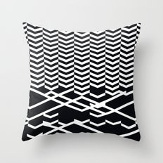 defragmentation Throw Pillow