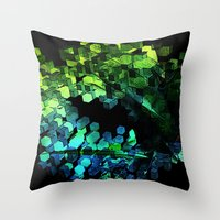 Cellular Automata Throw Pillow