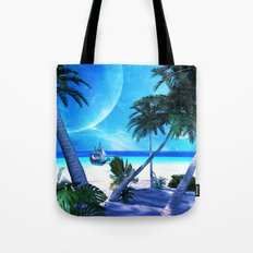 View over the ocean Tote Bag
