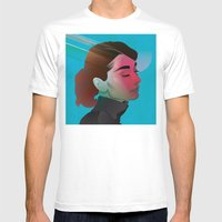 Classy- Audrey Hepburn Mens Fitted Tee White SMALL