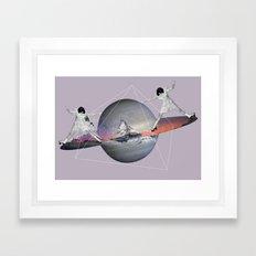 MAGIC ROLLER  Framed Art Print