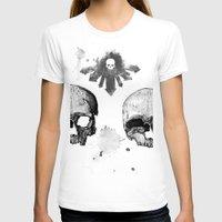 skulls T-shirts featuring Skulls by Lazyfish