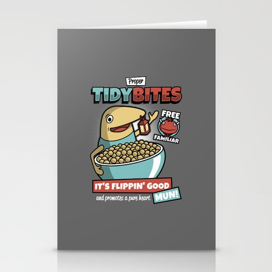 Proper Tidy Bites Stationery Card