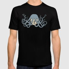 Bad hair day Black SMALL Mens Fitted Tee