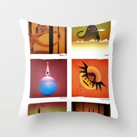 6 Mamaws Throw Pillow