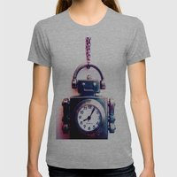 iRobot Womens Fitted Tee Athletic Grey SMALL