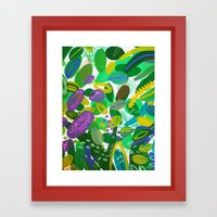 Between The Branches. II… Framed Art Print