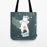 superbear Tote Bag